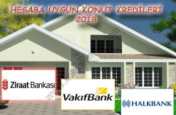 Hesaba Uygun Konut Kredileri 2018 Yılı Kampanyaları