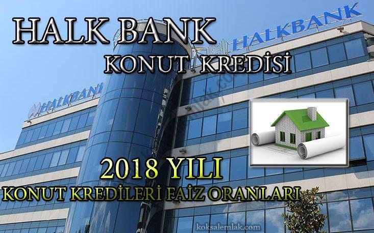 Halk Bankası 2018 Yılı Konut Kredisi Fırsatları - Köksal Emlak