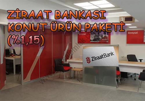 Ziraat Bankası Konut Ürün Paketi (%1,15) - Köksal Emlak