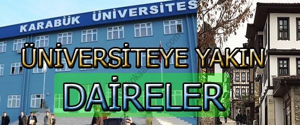 Karabük'te Üniversiteye Yakın Daire Fiyatları